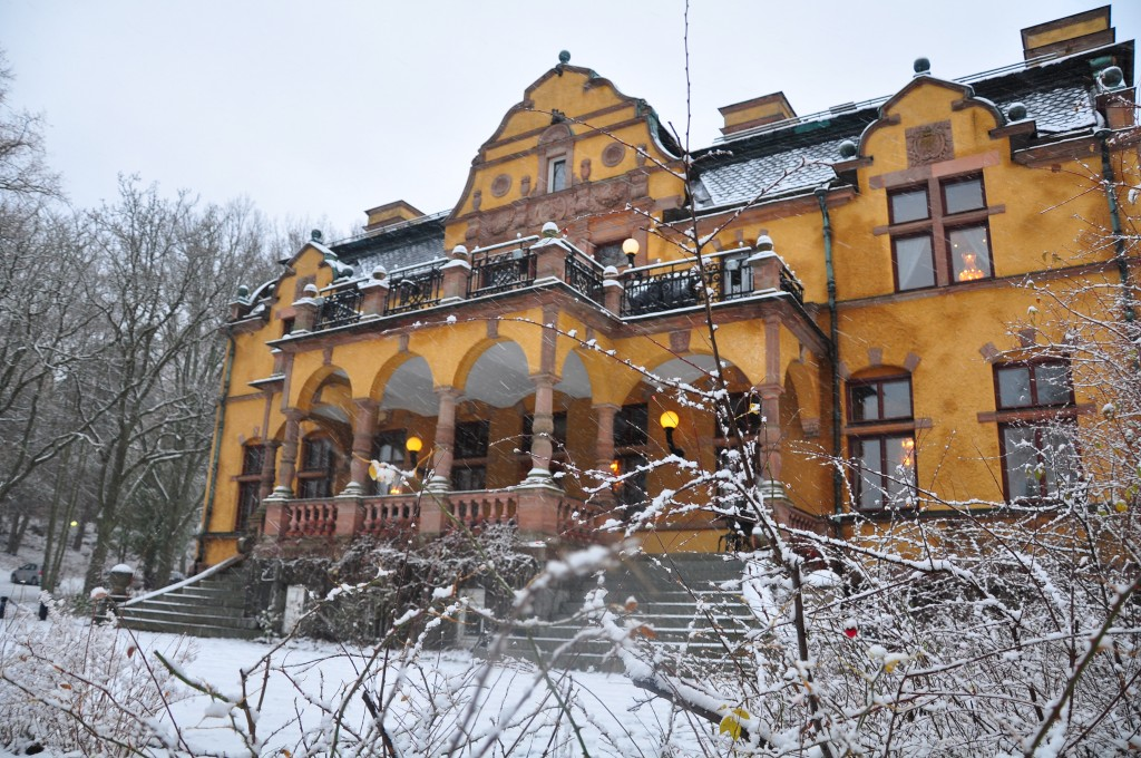 This is the palace that Swedish tobacco snus built.