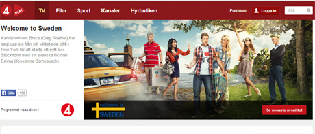 Swedish sitcom, Welcome to Sweden